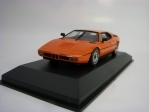 BMW M1 1979 Orange 1:43 Maxichamps